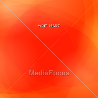 Abstract Red Wave Background. Red Light Pattern Stock Photo