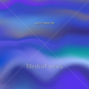 Abstract Soft Blue Background. Blurred Wave Blue Pattern Stock Photo