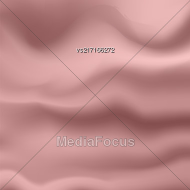 Abstract Soft Pink Background. Blurred Wave Pink Pattern Stock Photo