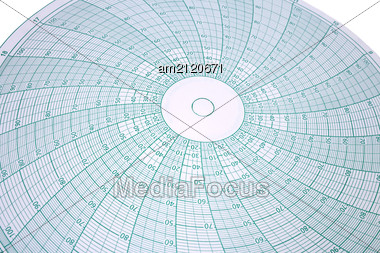 Abstract Spherical Graph Design For Latitude Longitude Mapping Stock Photo