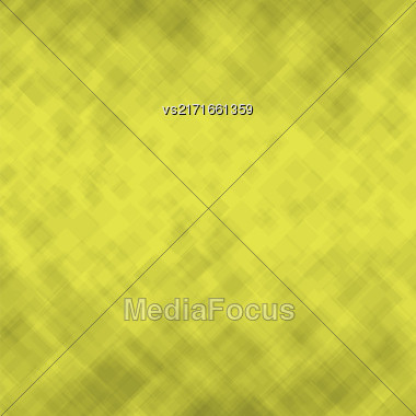 Abstract Square Background. Yellow Mosaic Pattern. Design For Banner, Poster Stock Photo