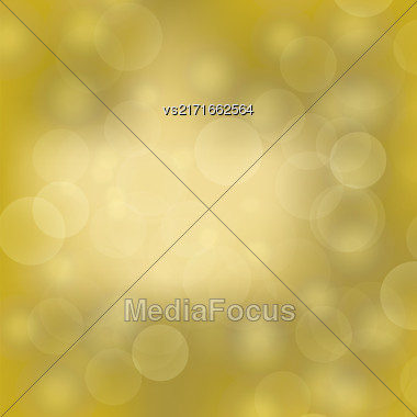 Abstract Sun Background. Yellow Summer Pattern. Bright Background With Sunshine. Sun Burst With Flare And Lens Stock Photo