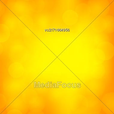 Abstract Sun Background. Yellow Summer Pattern. Bright Texture With Sunshine. Hot Sunburst With Flare And Lens Stock Photo