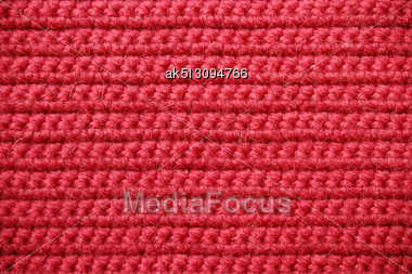 Abstract Texture Of Knitting Wool Stock Photo