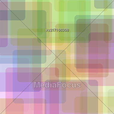 Abstract Transparent Square Background. Geometric Colorful Pattern. Abstract Colored Pattern Stock Photo