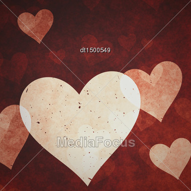 Abstract Valentine Backgrounds For Your Design Stock Photo