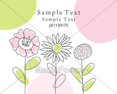 Royalty free stock photo abstract vector greeting card
