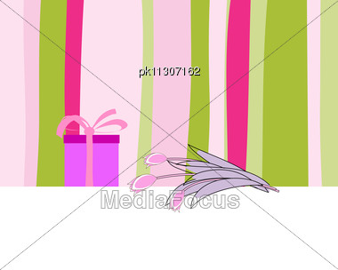 Royalty free stock photo abstract vector greetings card