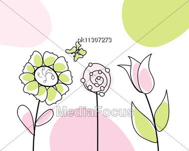 Royalty free stock photo abstract vector greetings card