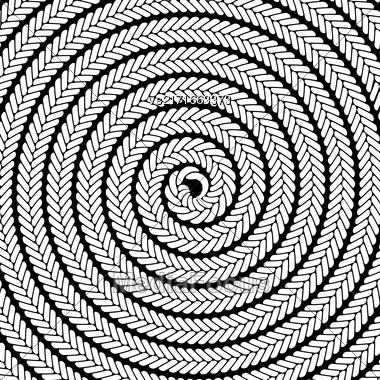 Abstract White Spiral Pattern. Abstract White Spiral Background Stock Photo