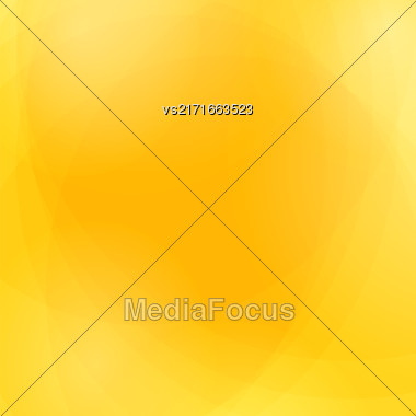 Abstract Yellow Wave Background. Yellow Light Pattern Stock Photo