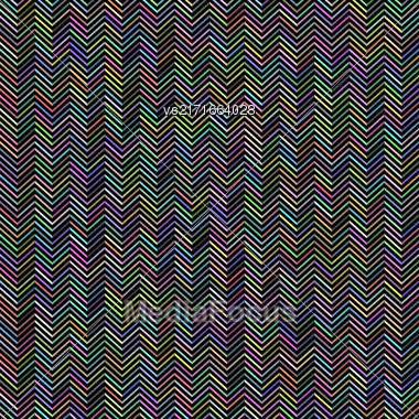 Abstract Zig Zag Pattern. Colorful Line Background Stock Photo