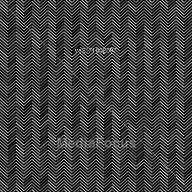 Abstract Zig Zag Pattern. Grey Line Background Stock Photo