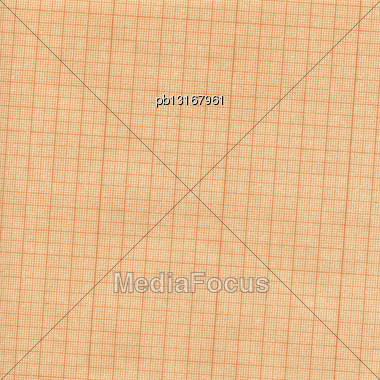 Aged Old Grunge Grid Scale Paper, High Resolution Background Stock Photo