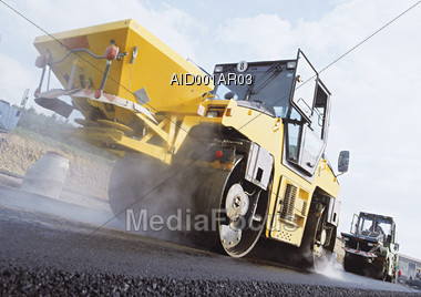 industrial truck industry Stock Photo