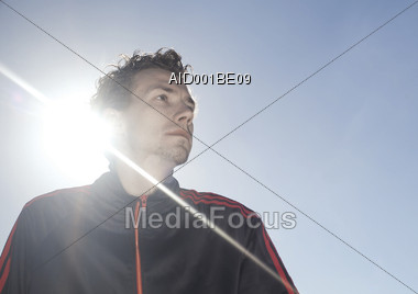 exhausted sadness puzzled Stock Photo