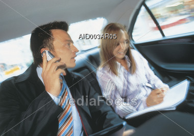 assistants people business Stock Photo