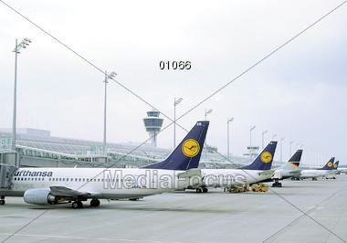 Airplanes Stock Photo