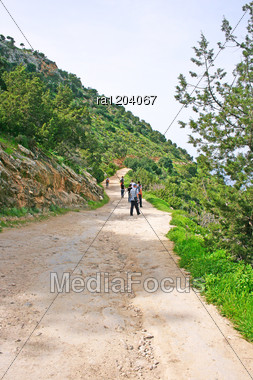 Akamas Peninsula In Cyprus, Nature Reserve. Stock Photo