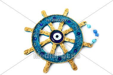 Anchor Decoration Stock Photo