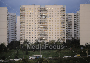 apartments moscow russia. Apartment Building in Moscow  Russia Stock Photo Image 14004