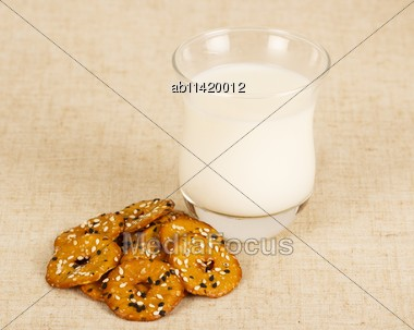 Appetizing Breakfast Stock Photo