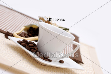 Arabic Coffee Stock Photo