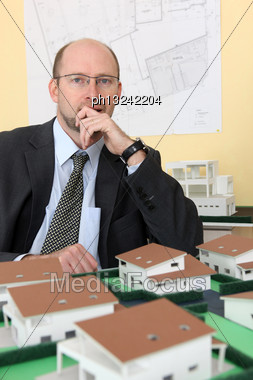 Architect Stock Photo