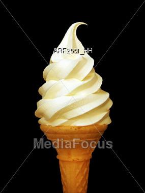 ice food cone Stock Photo