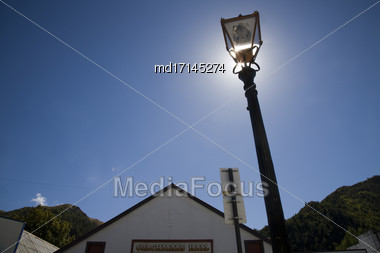Arrowtown New Zealand Downtown South Island Summer Stock Photo