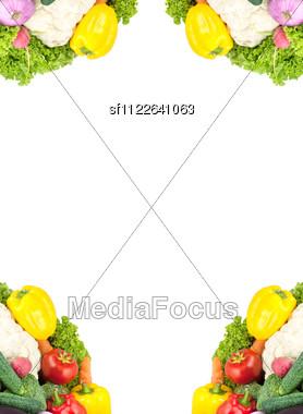 Assorted Fresh Vegetables Stock Photo