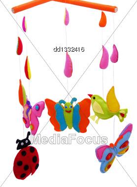 Baby Mobile - Kids Toys Stock Photo