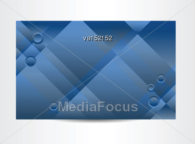 Background Blue Abstract Vector Illustration Stock Photo