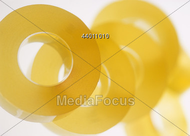 Background of Adhesive Tapes Stock Photo