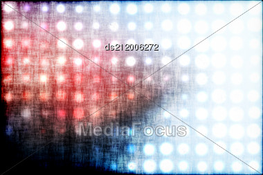 Background With The Colourful Circles Stock Photo