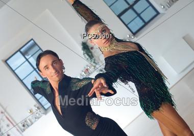 Ballroom Dancers Stock Photo