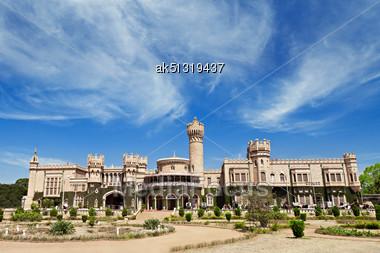 Bangalore Palace, Bangalore, Karnataka State, India Stock Photo