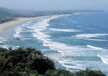 Beaches - Coast of Wilderness Stock Photo