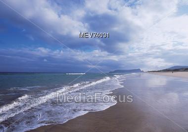 Beaches - Porto Santo, Madeira Stock Photo