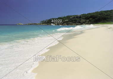 Beaches - Seychelles Stock Photo