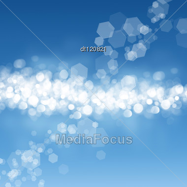 Beautiful Abstract Water Backgrounds With Defocused Bokeh Stock Photo