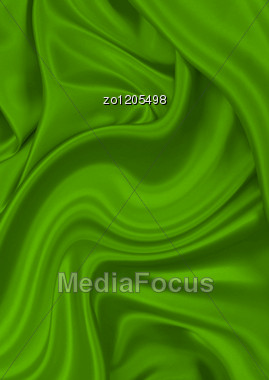Beautiful Silk Material As The Basic Background Stock Photo