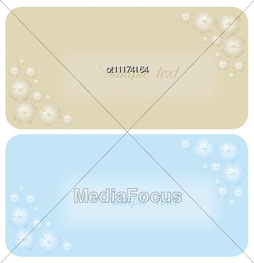 Beautiful Wedding Invitation Or Card Vector Stock Photo