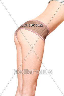 Beauty Curves Of Young Woman. Stock Photo