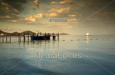 Black Sea. Natural Landscape Stock Photo