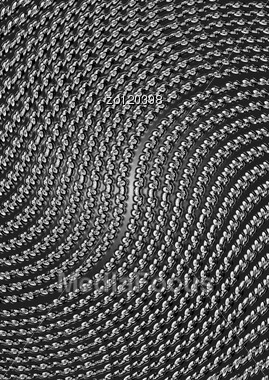 Black Silvery Abstract Metal Background Stock Photo