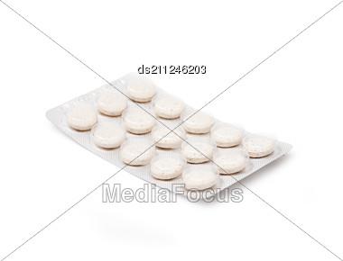 Blister Pack Of Pills Stock Photo