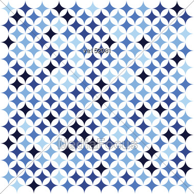 Blue Abstract Star Texture Background Vector Illustration Stock Photo