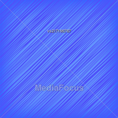 Blue Diagonal Lines Background. Abstract Blue Diagonal Pattern Stock Photo