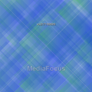 Blue Square Background. Abstract Blue Square Pattern Stock Photo